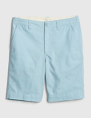 GAP Boys Everyday Shorts in Linen-Cotton