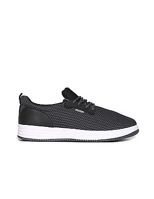 Flying Machine Textile Lace Up Shoes