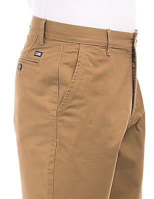 Arrow Sports Regular Fit Twill Shorts