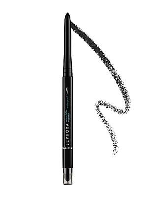 Sephora Collection Retractable Waterproof Eyeliner - 09 Glitter Black