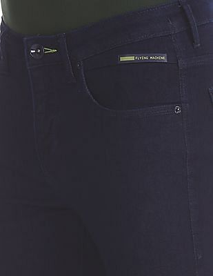 Flying Machine Blue Michael Slim Tapered Fit Rinsed Jeans