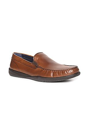 Cole Haan Brown Lovell Two Gore Loafers