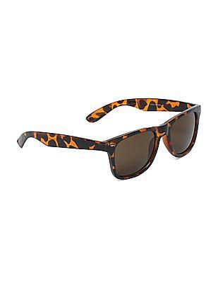 Flying Machine Tortoise Shell Tinted Sunglasses