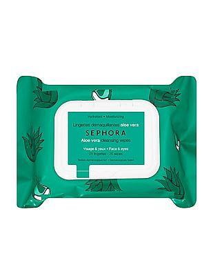 Sephora Collection Exfoliating Wipes - Aloe Vera