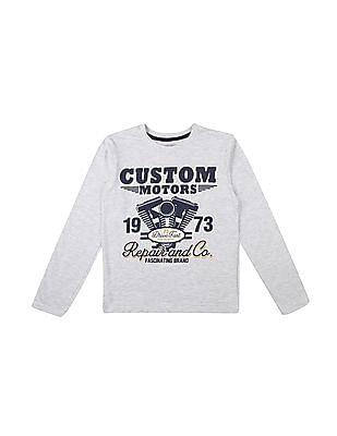 cffd57e4 Buy Boys Boys Long Sleeve Printed T-Shirt online at NNNOW.com
