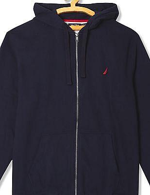 Nautica Hooded Zip Up Sweatshirt