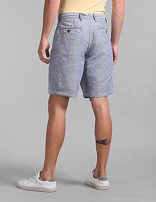 "GAP 10"" Chino Shorts In Linen-Cotton"