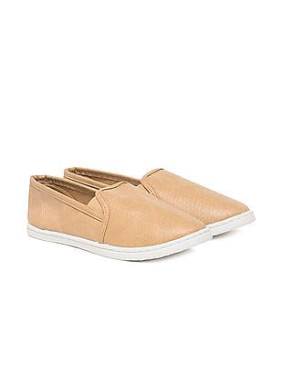 Aeropostale Textured Slip-On Shoes