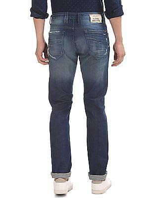 Flying Machine Stone Wash Slim Tapered Jeans