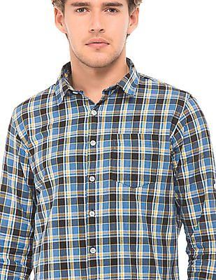 Ruggers Spread Collar Check Shirt