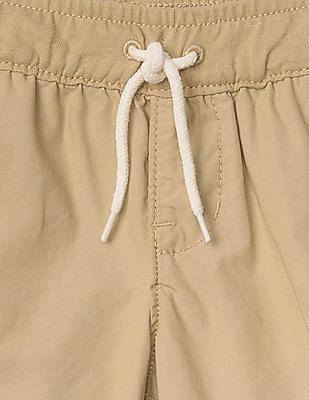 GAP Baby Beige Poplin Pull On Shorts