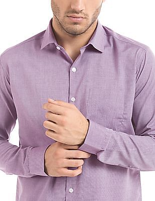 Excalibur Regular Fit French Placket Shirt