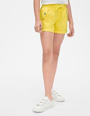 GAP Girls Pull-On Cargo Shorts