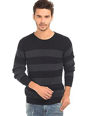 Ed Hardy Striped Knit Sweater