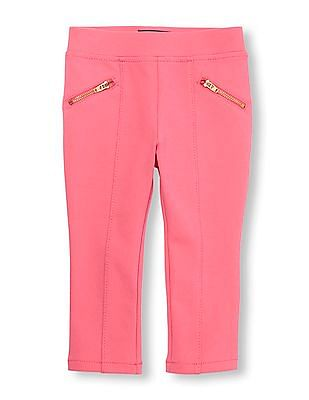 The Children's Place Toddler Girl Solid Ponte Pants