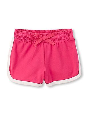 The Children's Place Toddler Girl Solid Knit Active Shorts