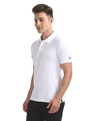 Arrow Sports Regular Fit Jacquard Polo Shirt