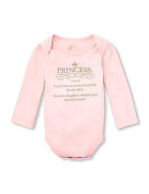 The Children's Place Baby Long Sleeve Bodysuit