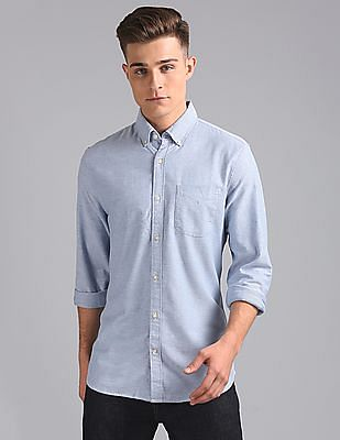 GAP Oxford Shirt in Stretch