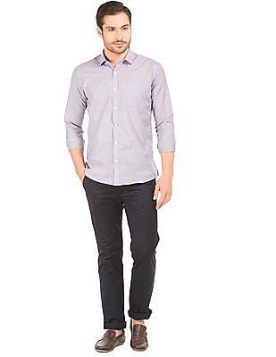 Excalibur Striped Regular Fit Shirt