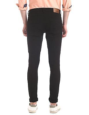 Newport Black Skinny Fit Rinsed Jeans