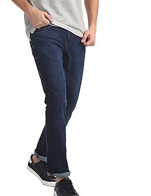 Arrow Sports Blue James Slim Fit Dark Wash Jeans