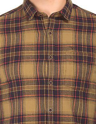 Flying Machine Slim Fit Check Shirt
