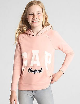 GAP Girls Logo Hoodie Sweatshirt