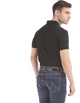 Arrow Newyork Striped Regular Fit Polo Shirt