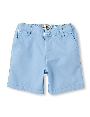 The Children's Place Toddler Boy Blue Chino Shorts