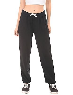 Aeropostale Solid Knit Joggers
