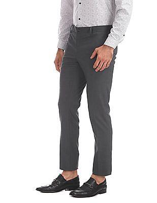 Excalibur Super Slim Fit Flat Front Trousers