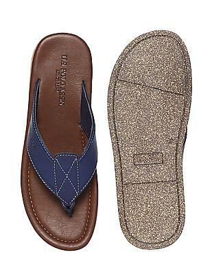 U.S. Polo Assn. Colour Block V-Strap Sandals