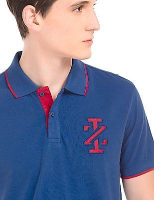Izod Solid Cotton Polo Shirt