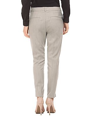 Arrow Woman Patterned Tapered Fit Trousers