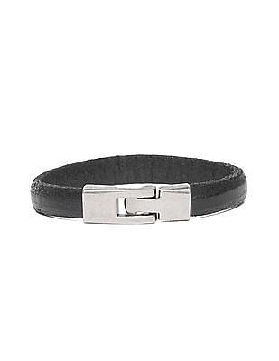 Ed Hardy Solid Leather Bracelet
