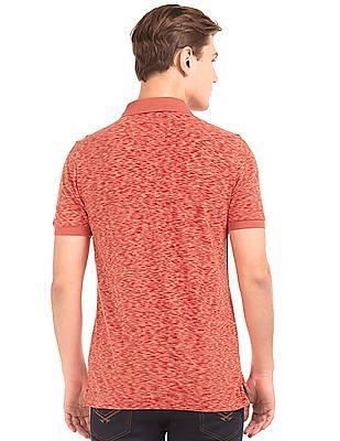 U.S. Polo Assn. Heathered Cotton Polo Shirt