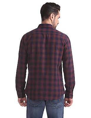 Izod Slim Fit Check Shirt
