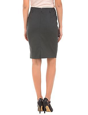 Arrow Woman Elasticized Waist Pencil Skirt