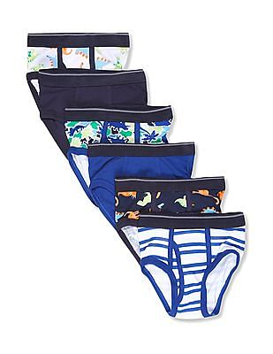 The Children's Place Assorted Toddler Boy Sport Briefs - Pack Of 7