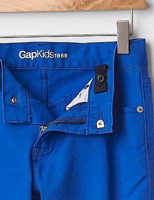 GAP Boys Blue 1969 Colour Slim Fit Jeans