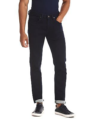 Flying Machine Blue Skinny Fit Rinsed Jeans