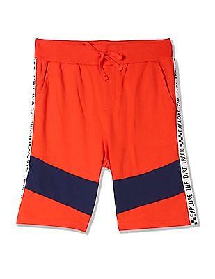 FM Boys Boys Drawstring Elasticized Waist Jersey Shorts