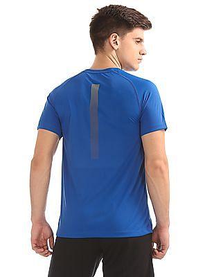 USPA Active Printed Raglan Sleeve Active T-Shirt
