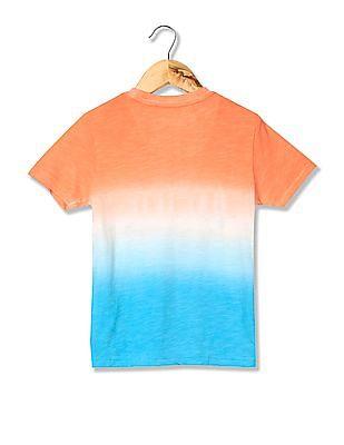 U.S. Polo Assn. Kids Boys Graphic Print T-Shirt