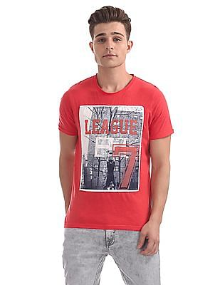 Colt Regular Fit Printed T-Shirt