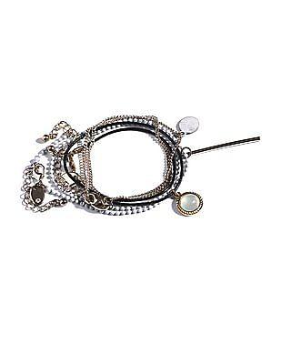 Aeropostale Choker Necklace - Set Of 3