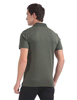 Arrow Short Sleeve Solid Polo Shirt