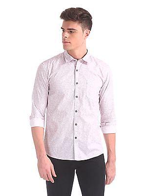 Newport Spread Collar Cotton Shirt