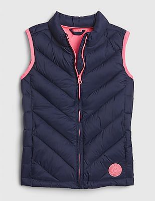 GAP Blue Girls ColdControl Puffer Vest